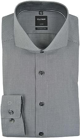 OLYMP - Camisa formal - Cutaway - para hombre negro 43 ...