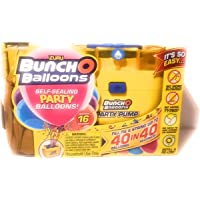 Zuru Bunch o Balloons Self Sealing Party Balloons Pump & 16 Balloons Assorted Party Supplies
