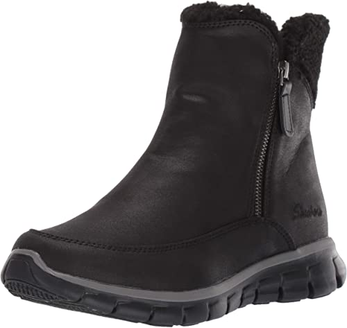 Details about NEW SKECHERS Women Sneakers Winter Boots Memory Foam SYNERGY Arctic Winter Grey show original title