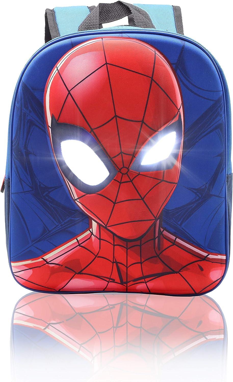 Mochila Niño Spiderman Bolsas Cumpleaños Infantil Mochilas Escolares Niños Marvel Vengadores Avengers 3D