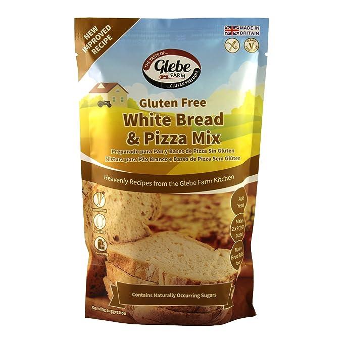 Glebe Farm Gluten Pan Y La Pizza Mezcla Blanca Libre (375g ...