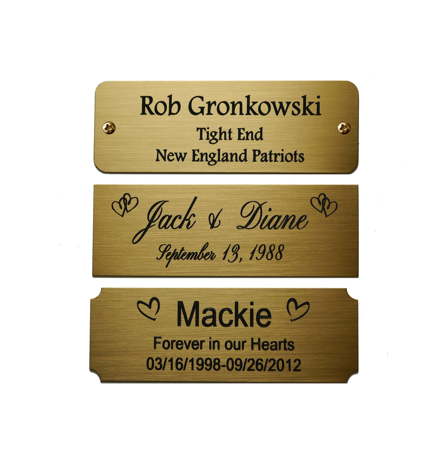 Galleon Size 3 Quot W X 1 Quot H Personalized Custom Engraved