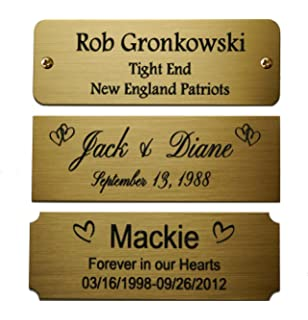 Personalised number plate gift voucher gift ftempo for Plaque de metal adhesive