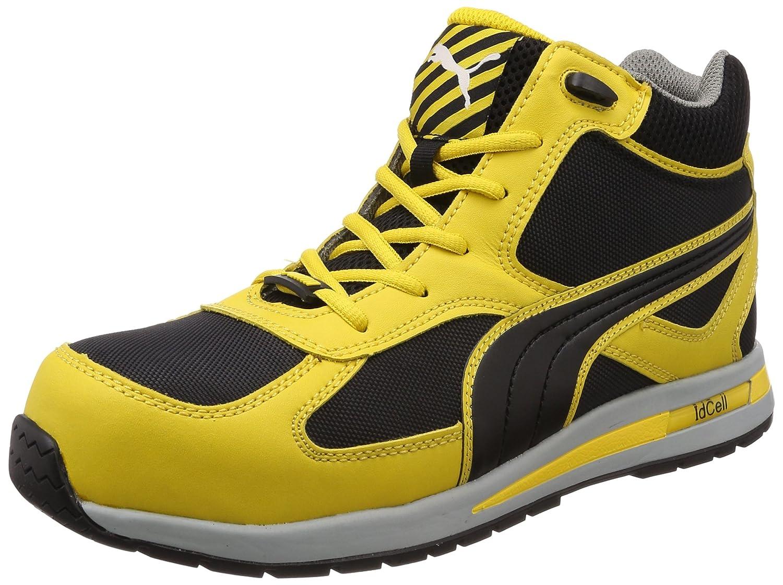 [プーマセーフティー] 安全靴 JSAA規格 セーフティスニーカー フルツイストミッド 63.20. B010MXPMRA 26.5 cm|イエロー