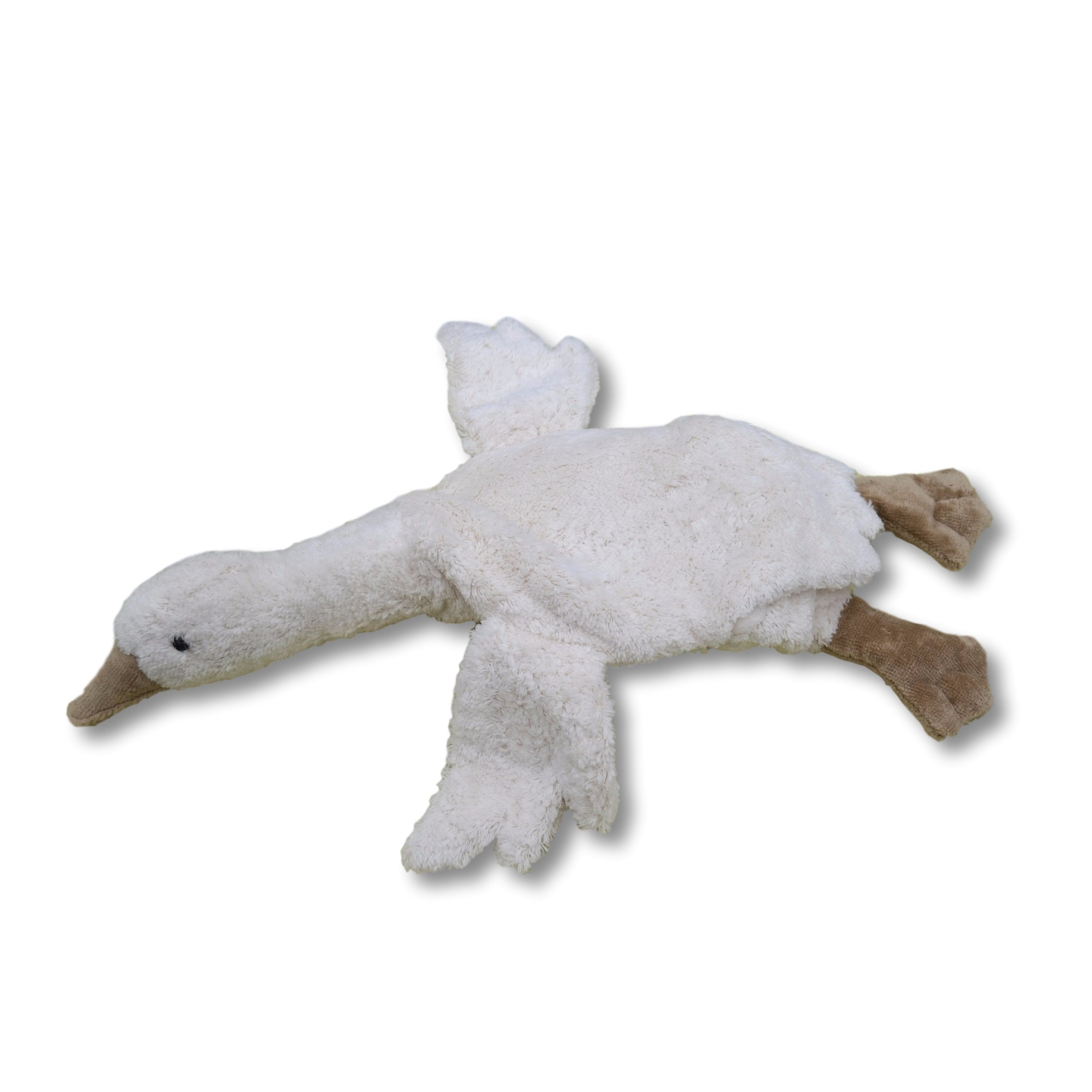 Senger Stuffed Animals - Organic Cotton Goose Warming Pillow - with Cherry Pits by Senger Tierpuppen