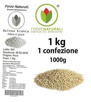 quinoa Blanco de perlas de Bolivia – Top Quality.
