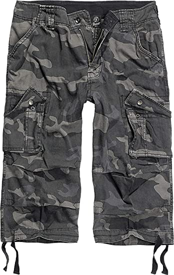 Details zu Brandit Herren Bermuda Cargo Shorts knielang Kurze Hose Lange 34 Short Sommer ¾
