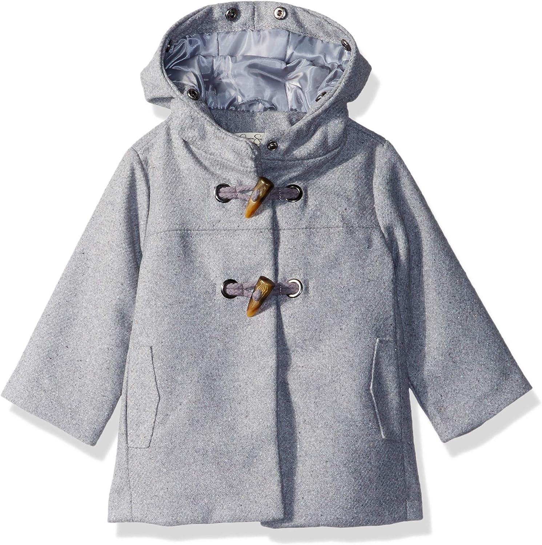 Jessica Simpson Girls Big Faux Wool Dress Coat