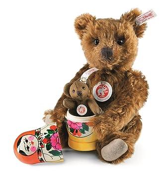 Steiff 034190 oso de peluche Muñecas Rusas, 26 cm, mohair ...