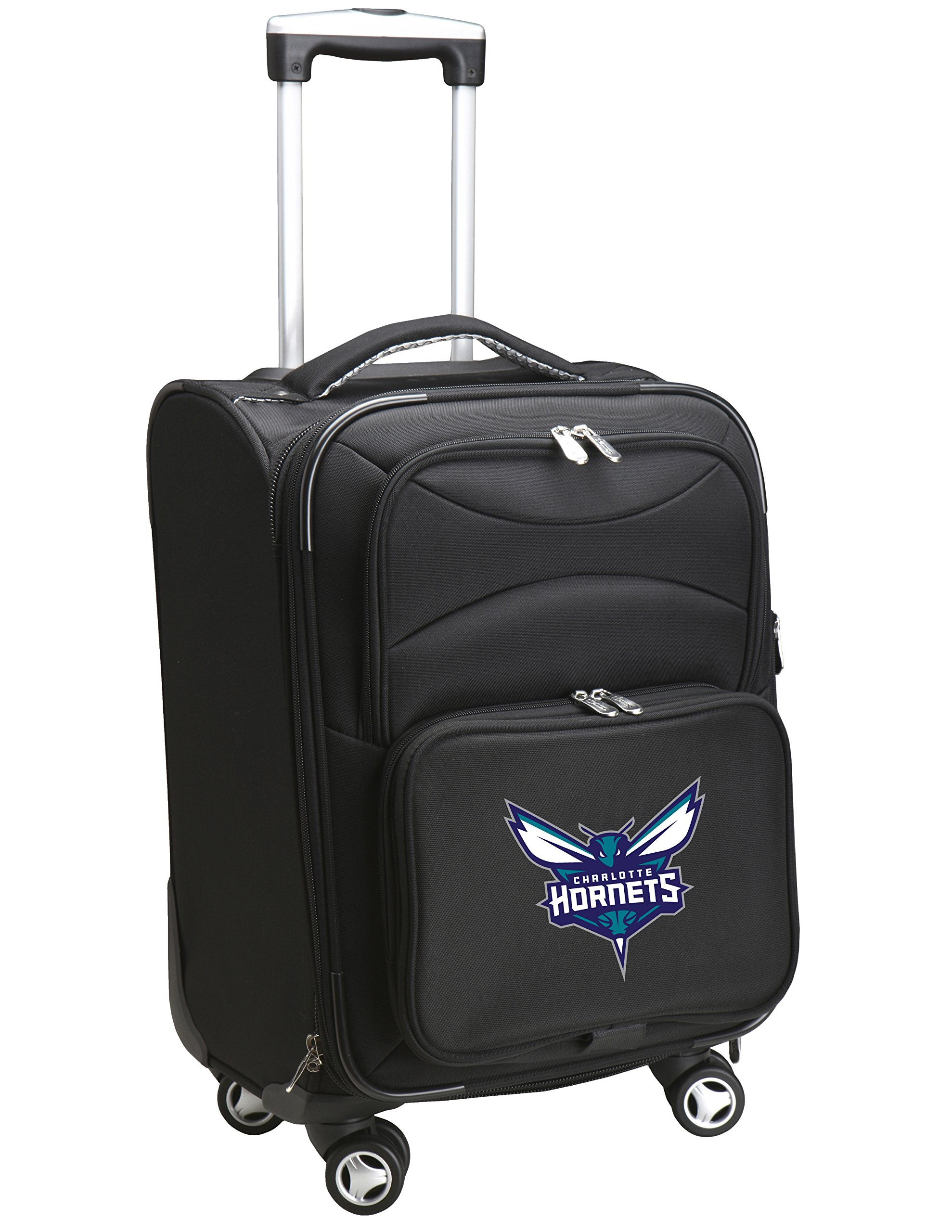 Denco NBA Charlotte Hornets Carry-On Luggage Spinner by Denco (Image #1)