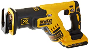 DEWALT DCS367D1 20V Max XR Brushless Compact Reciprocating Saw, 2.0 Ah,