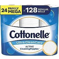 24-Family Mega Rolls Cottonelle Ultra CleanCare Toilet Paper
