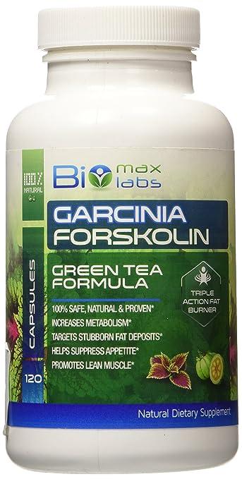BioMax-Labs Garcinia Forskolin Green Tea Formula