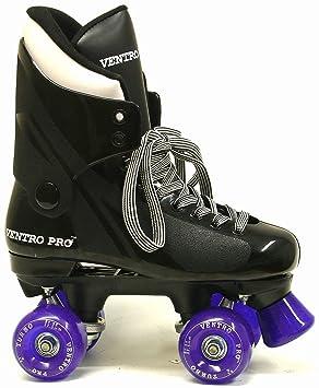 Ventronic VT01 Turbo Ventro Pro – Patines de Ruedas Quad con de ruedas de color púrpura