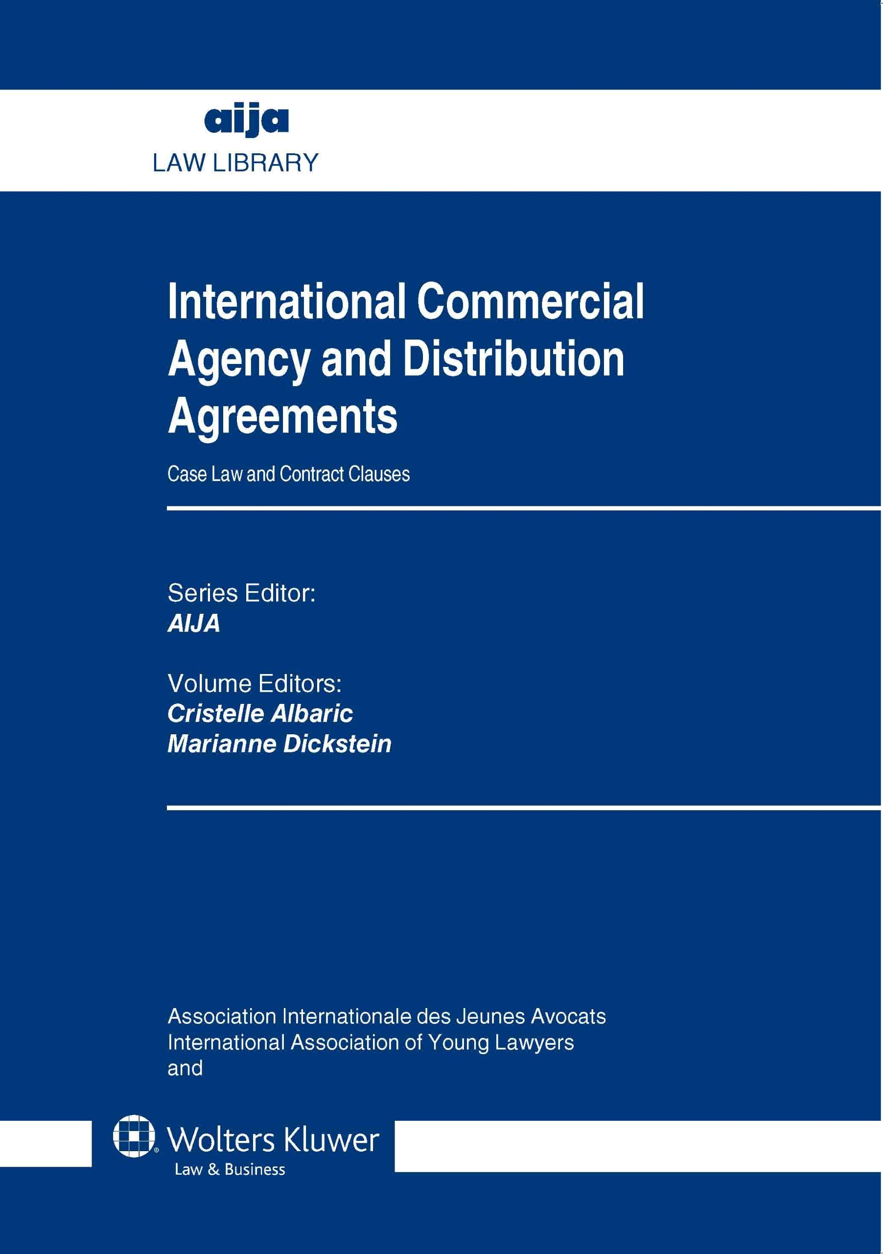 Buy International Commercial Agency And Distribution Agreements