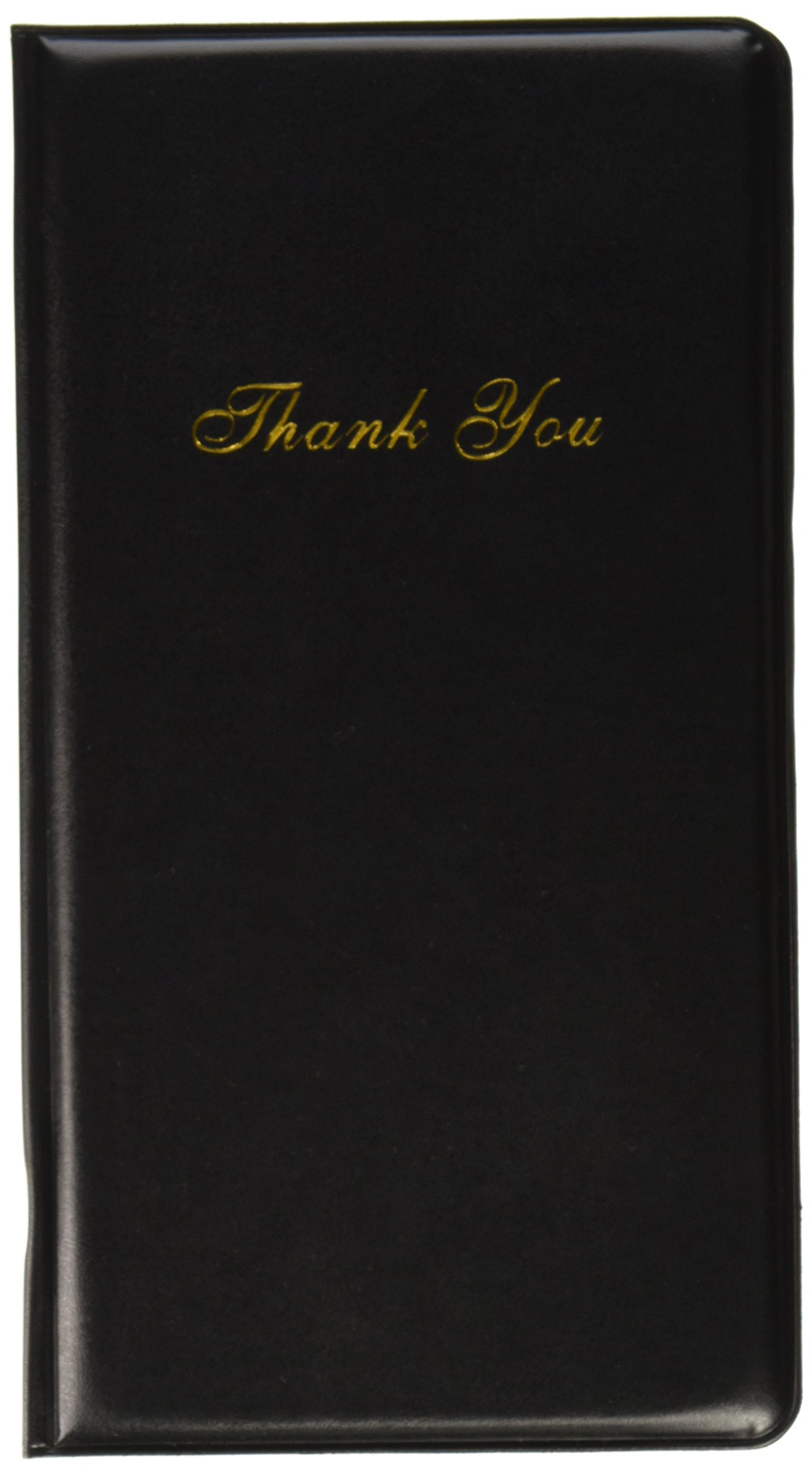 Book Style Fold Restaurant Menu Holder Covers, Black Synthetic Leather (10, Black)