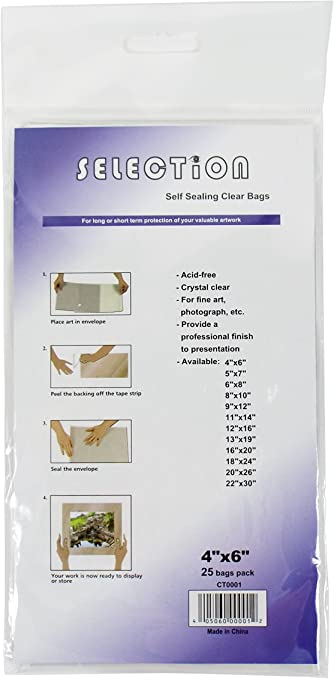"3/""x30/"" Poster Sleeves 20 Clear Bags for Storage of  27/""x 41/"" Size Posters"