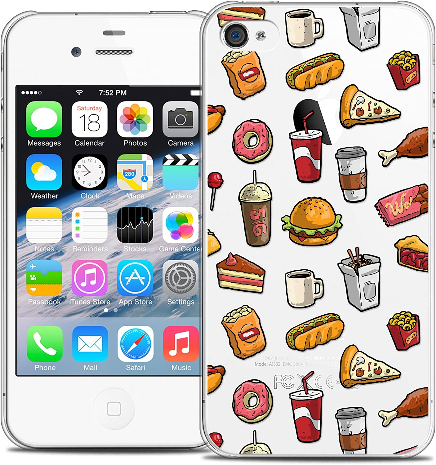 Ultra Slim Foodie Fast Food Case for Apple iPhone 4/4S