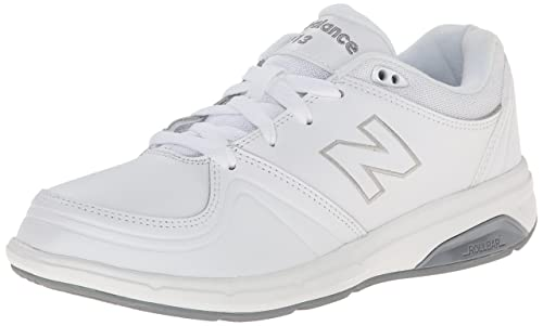 New Balance Women's WW813 Walking Shoe, White, ...