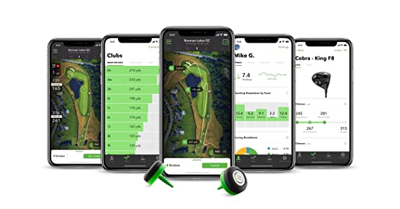 Golf Entfernungsmesser Iphone : Arccos 360 smart golf performance tracking system for apple ios