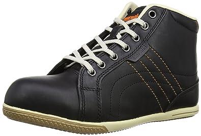 Scruffs Eden Boot - Zapatos de seguridad de cuero para mujer, color negro, talla