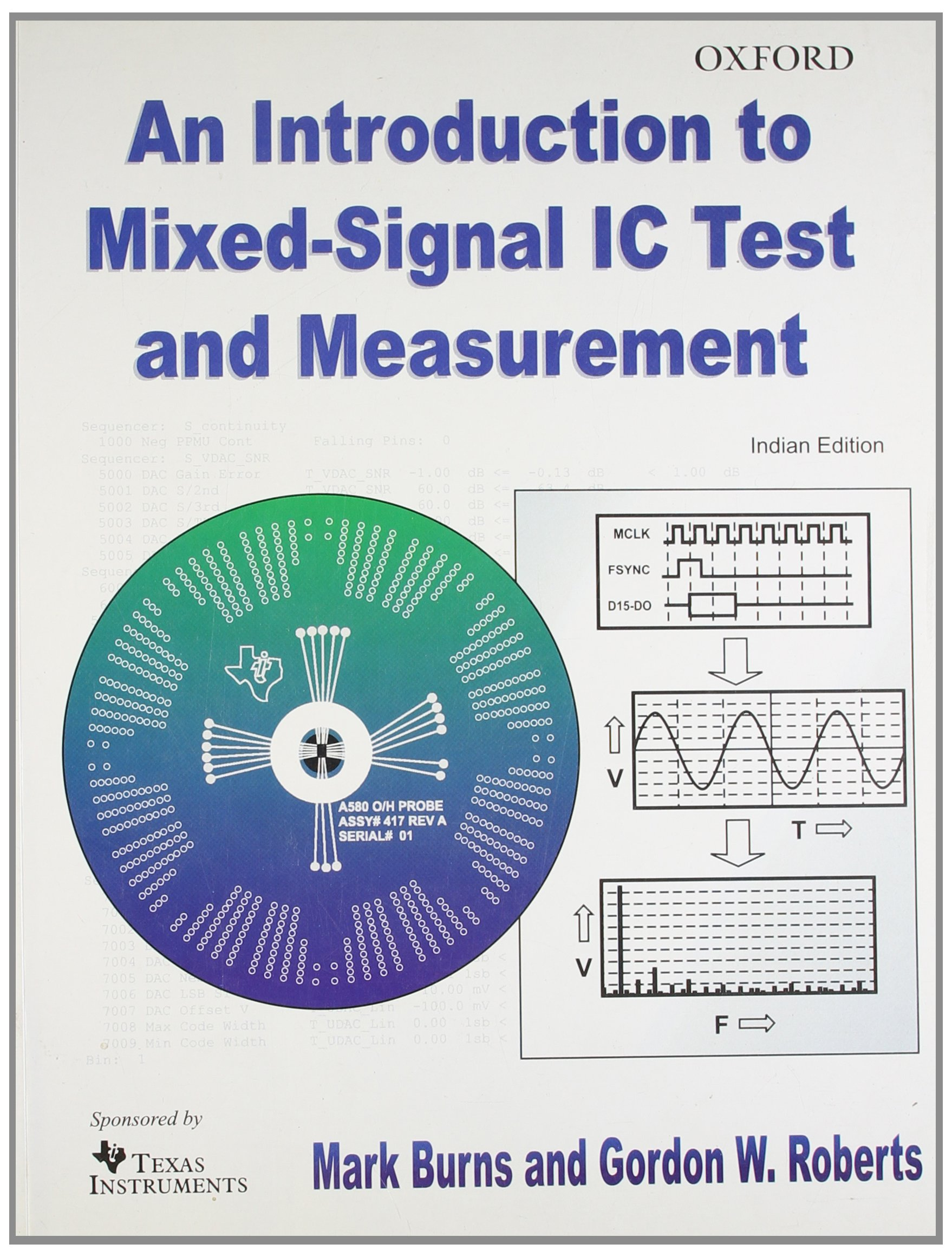 an introduction to mixedsignal ic test and measurement