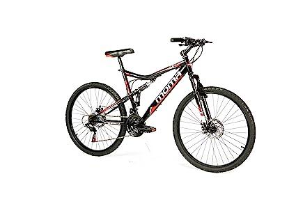 Moma Bikes Bicicletta Mountainbike 26 Btt Shimano Doppio Disco E Doppia Sospensione
