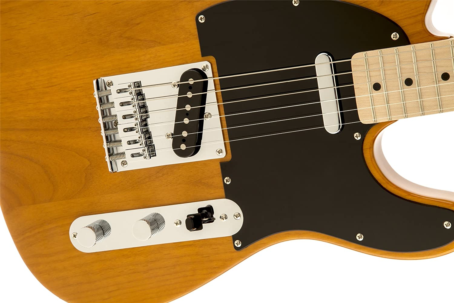 Squier By Fender Affinity Telecaster Beginner Electric 4 Way Wiring Guitar Maple Fingerboard Butterscotch Blonde Musical Instruments