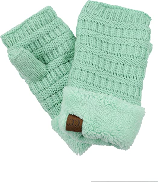 LADIES WOMENS SNOWFLAKE REINDEER CHRISTMAS  KNITTED GLOVES ARM WARMER GIFT UK