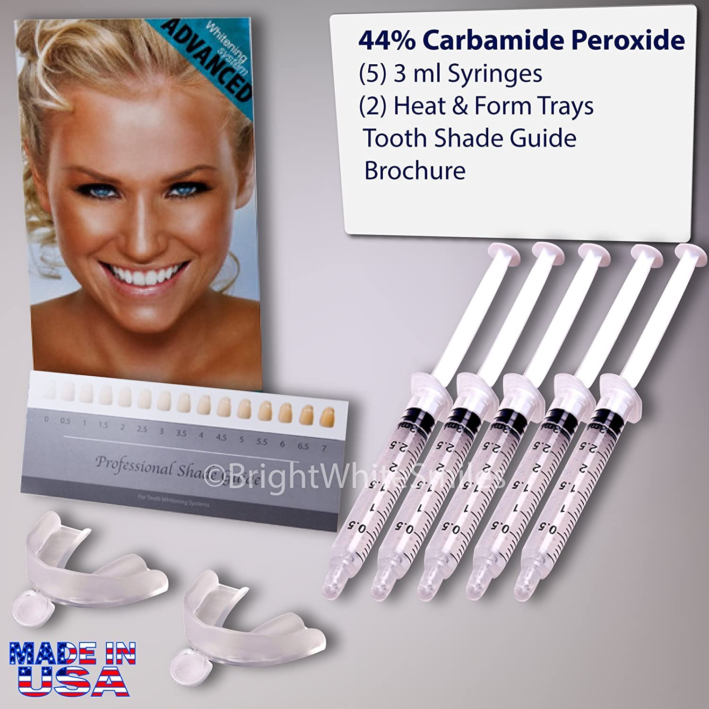 BrightWhiteSmiles Teeth Whitening Kit Bundle with Gel and Trays Dentech 05/01/1944