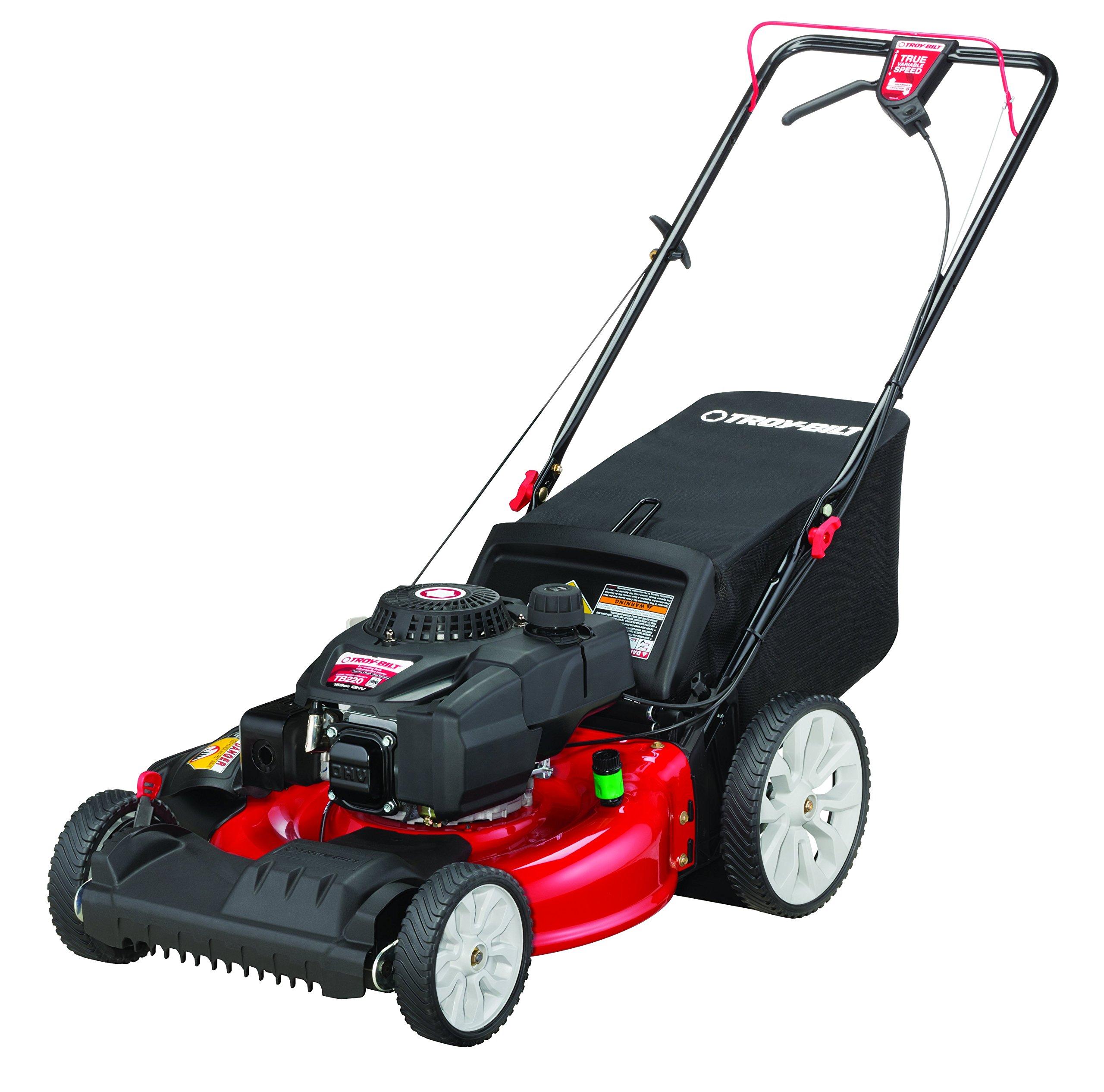 Troy-Bilt TB220 159cc 21-Inch FWD High Wheel Self-Propelled Lawn Mower