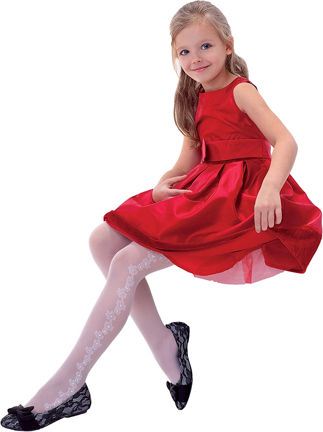 Country Kids Girls Movie Star Starred Tights