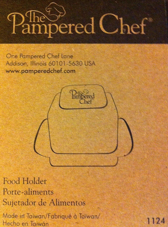 1 X Pampered Chef Food Holder