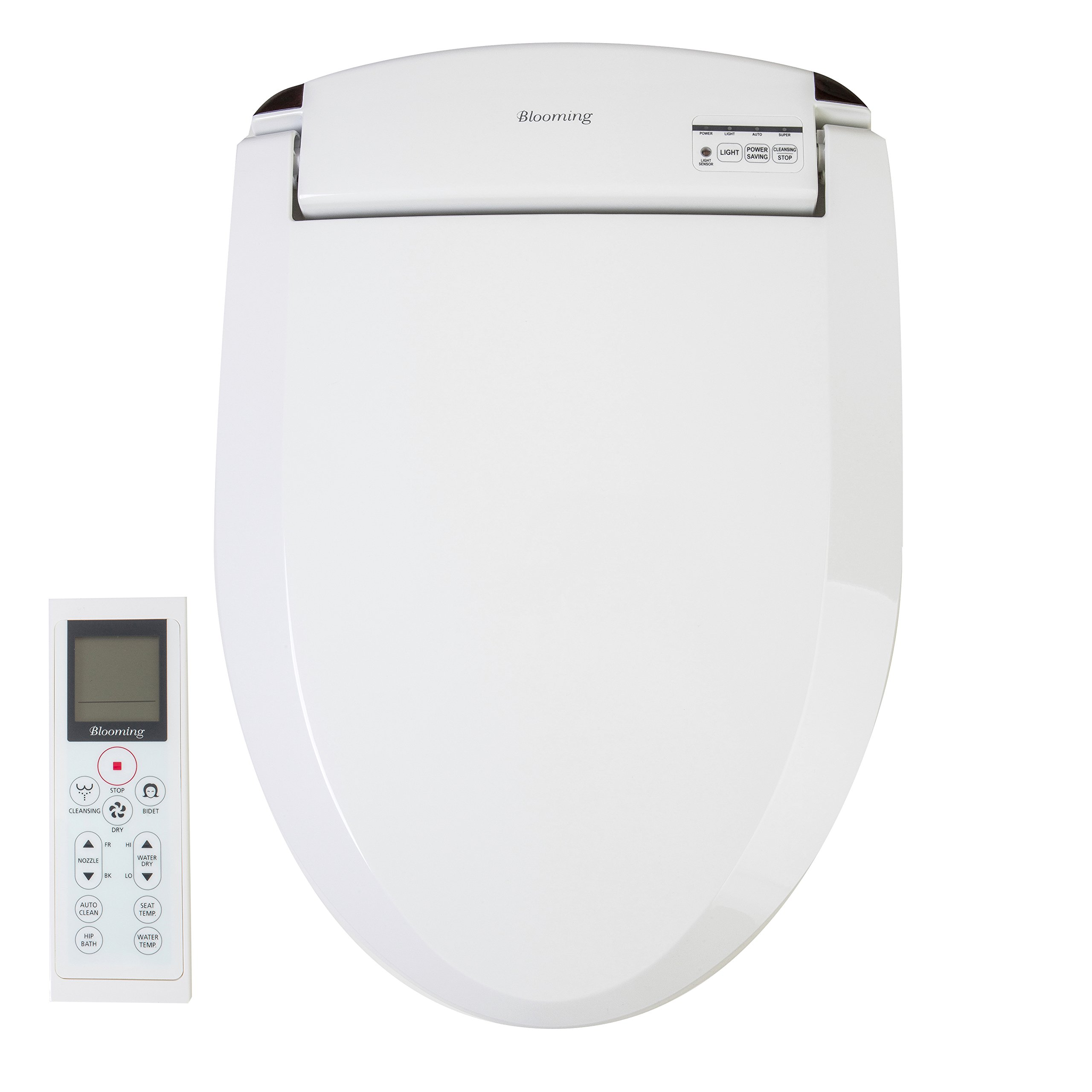 Blooming  NB-R1063-RW  Bidet Seat with Remote Round