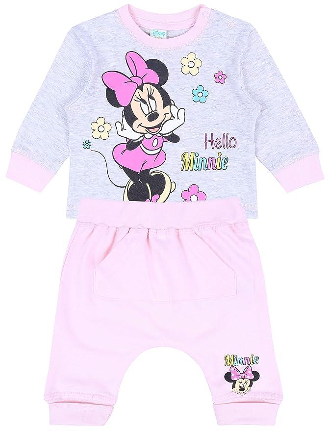 Conjunto bebé Gris-Rosa Minnie Disney: Amazon.es: Ropa y accesorios