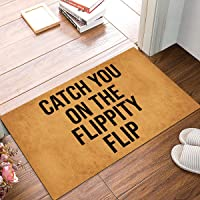 Joelmat Catch You On The Flippity Flip Entrance Non-Slip Indoor Rubber Door Mats for Front Door/Bathroom/Garden/Kitchen…