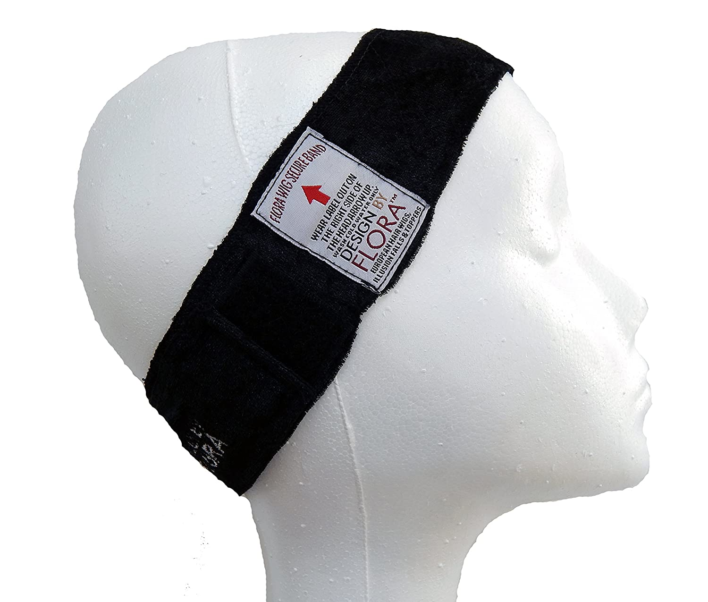 Amazon.com: Design By Flora Wig Grip Band (Black): Clothing