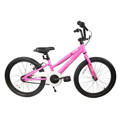 "Loco Kids Aluminum Bicycle Girls 20"" Pink - The Rosey : Sports & Outdoors"