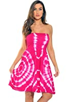 Riviera Sun Strapless Tube Short Dress Summer Dresses