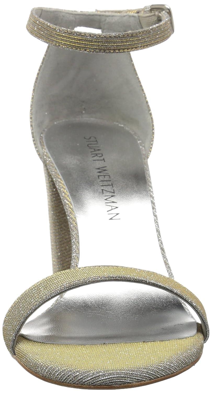 Stuart Weitzman Women's Nearlynude Heeled Sandal B01M71A977 9 N US|Magnesium