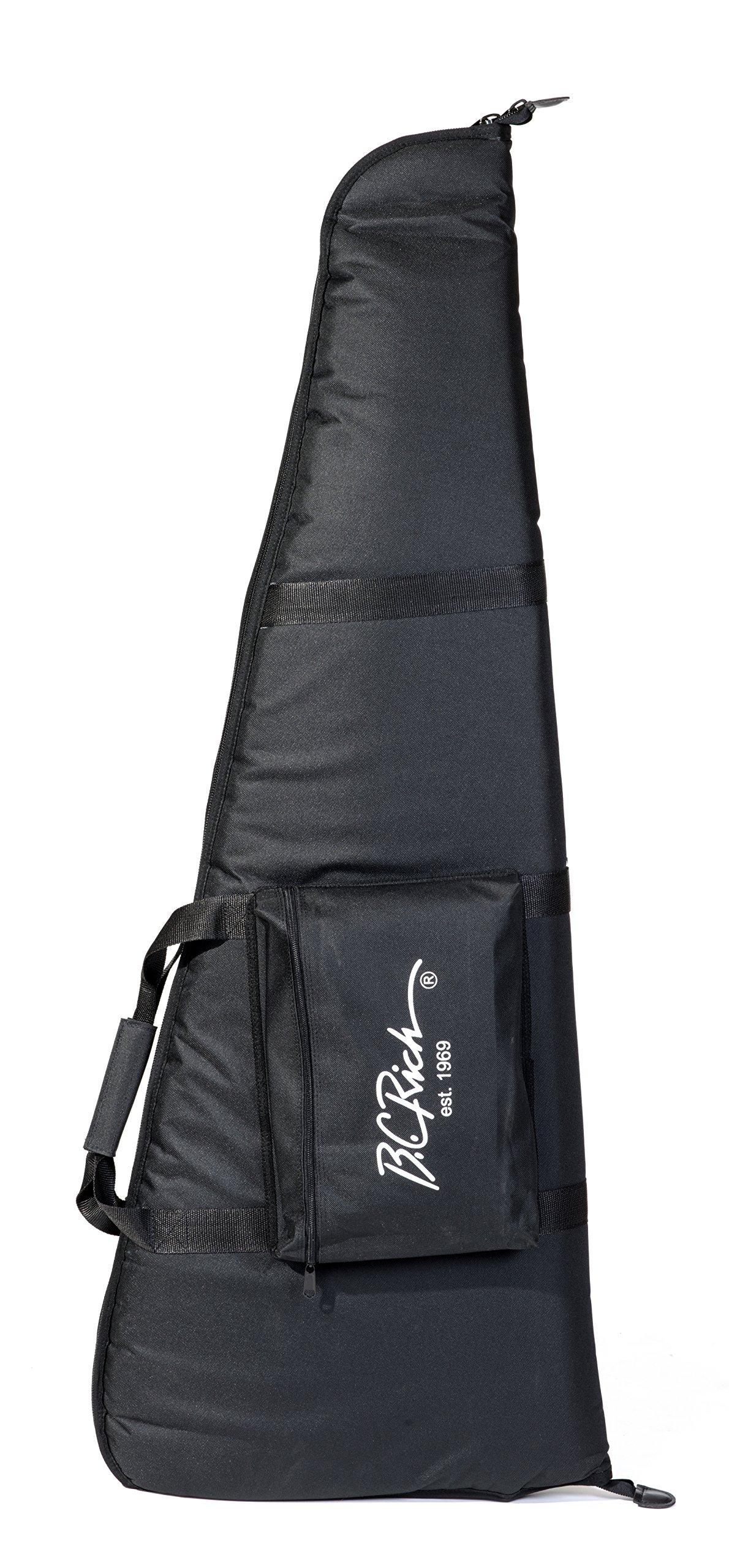 B.C. Rich Gig Bag for Warlock, Warbeast, Junior V & Bass Models, Deluxe Padding