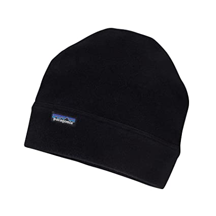 cd52045e0eb Amazon.com  Patagonia M s Synch Alpine Beanie Hat Black Mens L XL ...