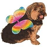 Rubie's Elastic Rainbow Pixie Fairy Wings for Pet Dog