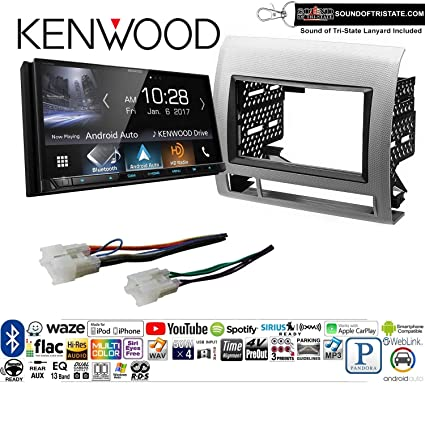 Amazon.com: Kenwood DMX7705S Double Din Radio Install Kit with Apple on double din bracket, double din trim ring, double din radio, double din cover, double din dash panel,