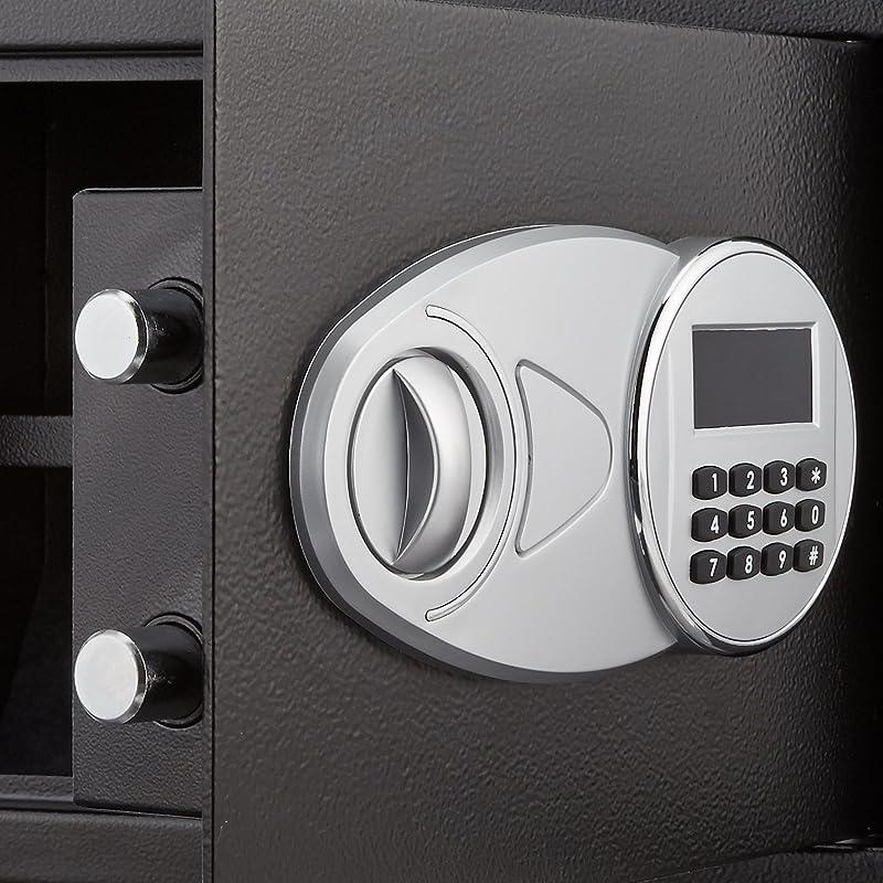 815p9bH1teL. SL800  AmazonBasics 25EI, cassaforte da muro da 14 litri con serratura elettronica