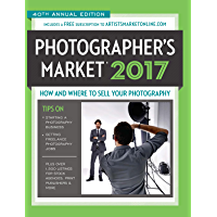 2017 Photographer's Market: How and Where to Sell Your Photography book cover