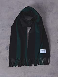 Wool Angora Scarf 1736-499-3033: Black