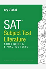 SAT Subject Test in Literature: Study Guide & 6 Practice Tests Paperback
