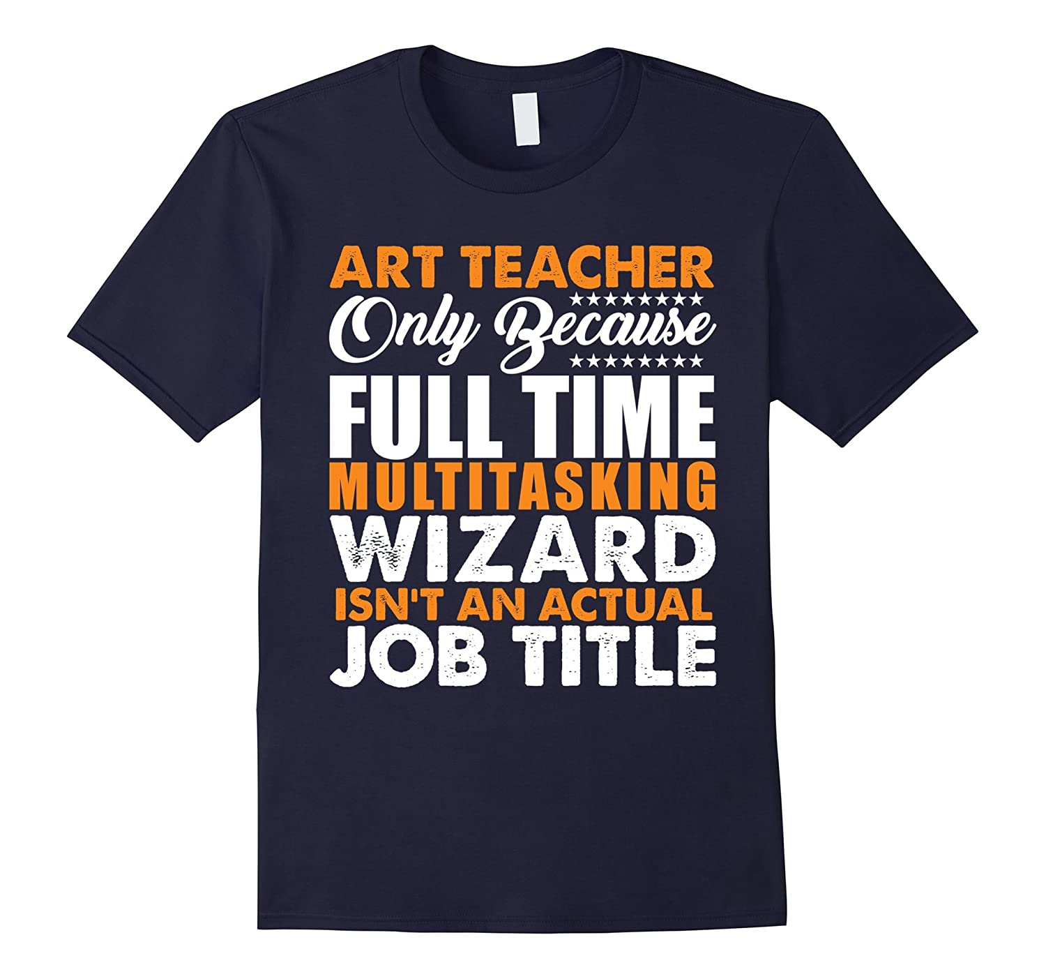 Art Teacher Is Not An Actual Job Title Funny T-Shirt-Rose