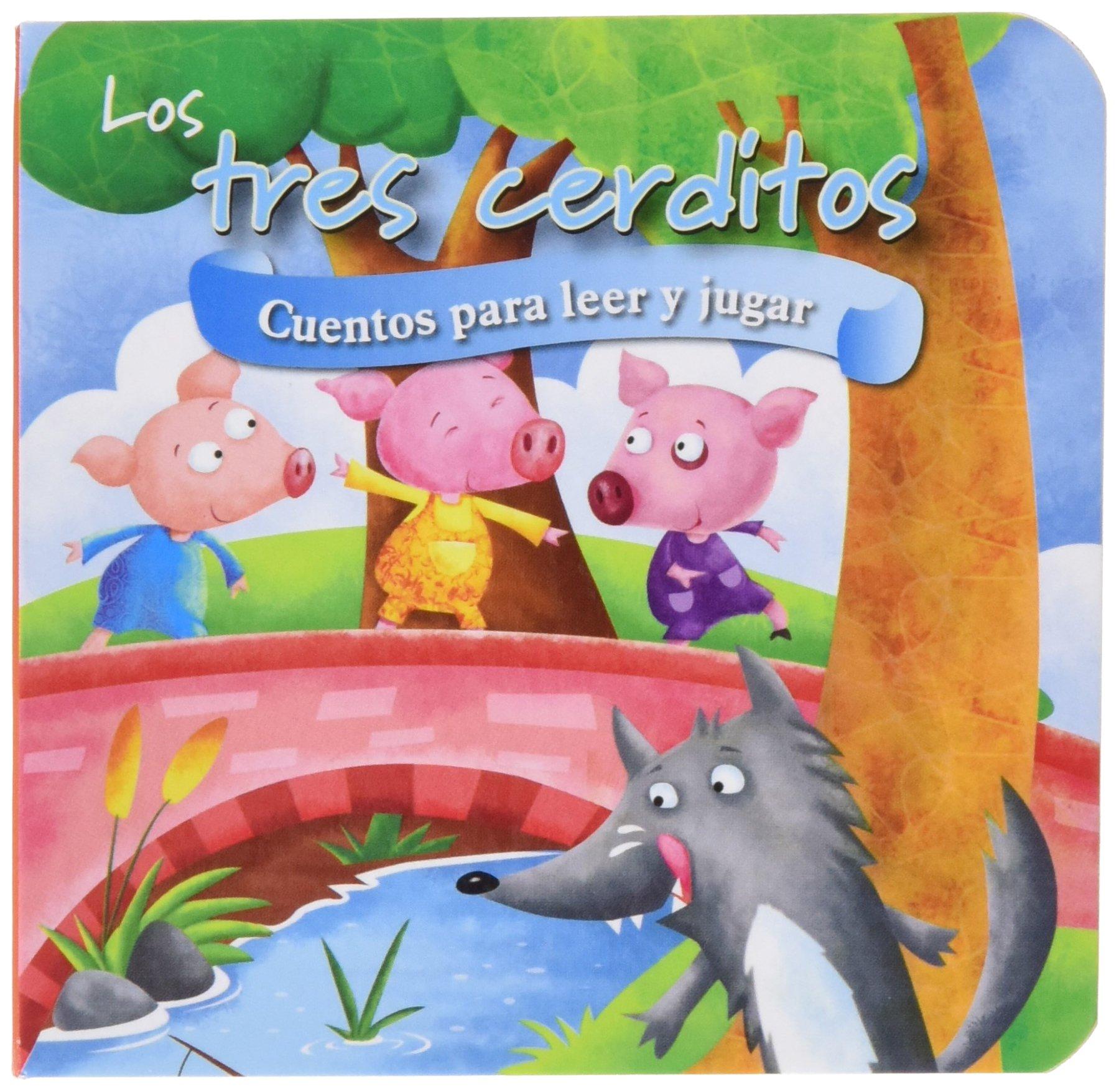 Los tres cerditos: con peluche: Varios autores: 9788428549349: Amazon.com: Books
